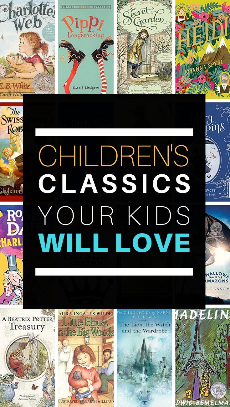 Children's Classics Your Kids Will Love. Fall in love with these children's classics all over again. Or better yet, share these classic children's books with your own children.