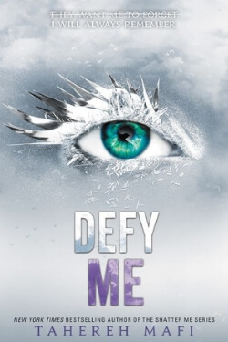 Book cover for Defy Me by Tahereh Mafi