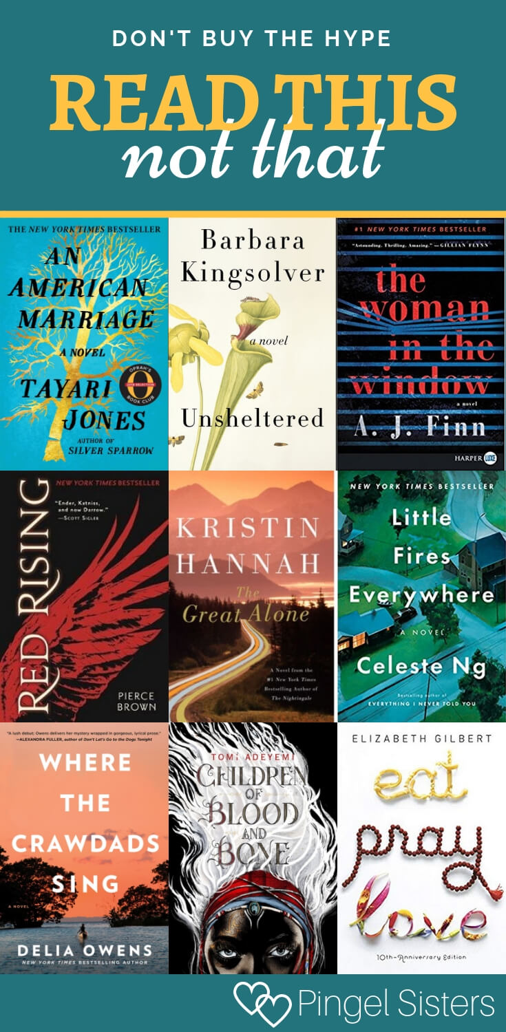 Our Read This Not That list is back! Find out which bestselling books we loved and which overrated books we suggest passing on this year.