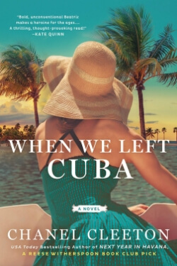 Book cover for When We Left Cuba by Chanel Cleeton