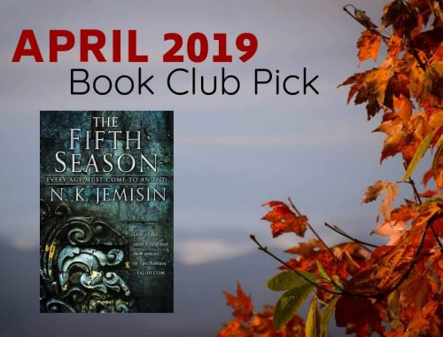 April 2019 Book Club Pick