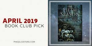 Come join us in April as we continue our book club! Next up, our April book club pick is The Fifth Season by N. K. Jemisin.