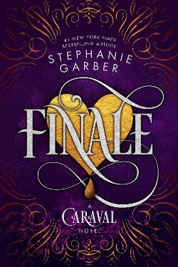 Book cover for Finale by Stephanie Garber