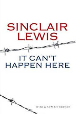 Book cover for It Can't Happen Here by Sinclair Lewis