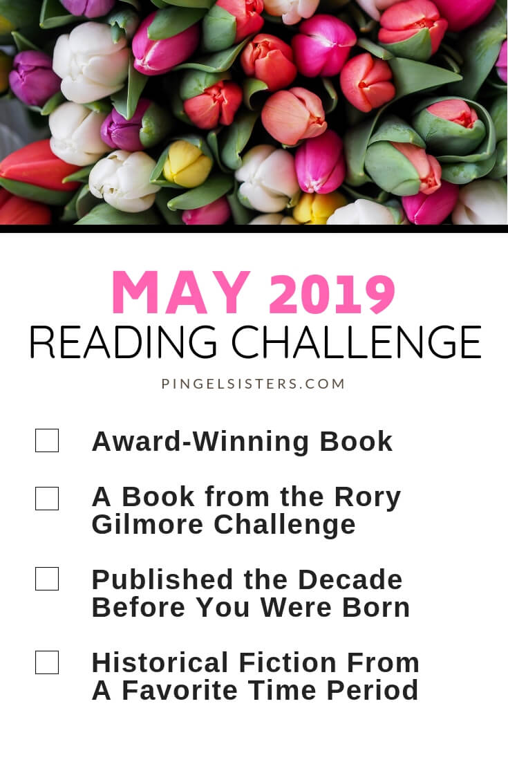 May Reading Challenge 2019 // Read a book a week this year by starting with these categories for your May Reading Challenge