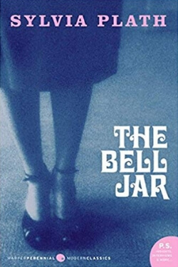 Book cover for The Bell Jar by Sylvia Plath