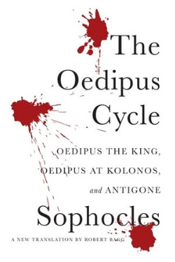 Book cover for The Oedipus Cycle by Sophocles