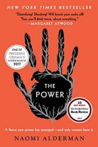 Book cover for The Power by Naomi Alderman