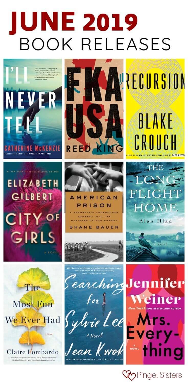June 2019 book releases