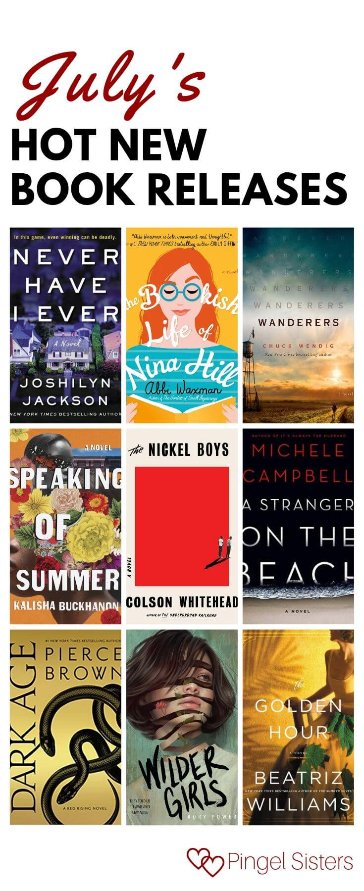 July's hot new book releaes
