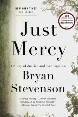 book cover Just Mercy by Bryan Stevenson