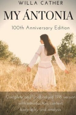 book cover My Antonia by Willa Cather