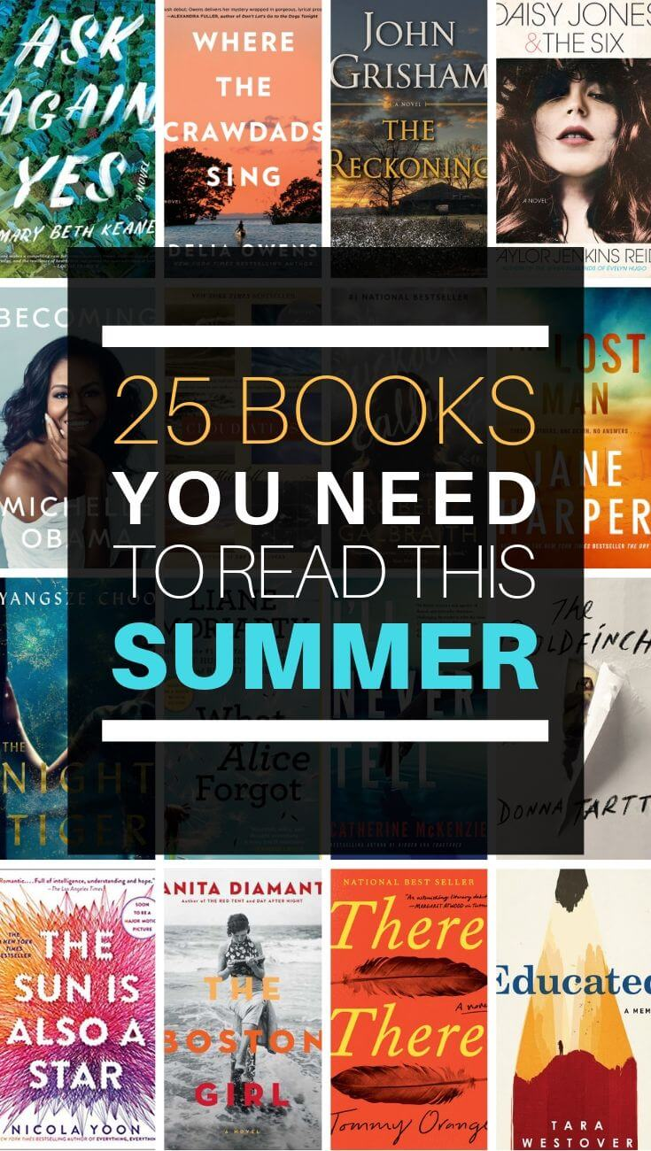 25 Books You Need to Read This Summer, summer books