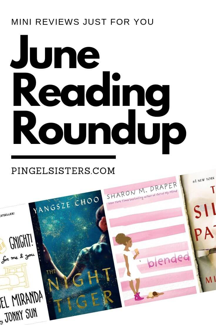 June Reading Roundup. Mini reviews just for you.