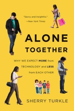 book cover Alone Together by Sherry Turkle