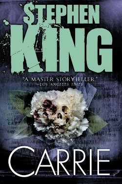 book cover Carrie by Stephen King