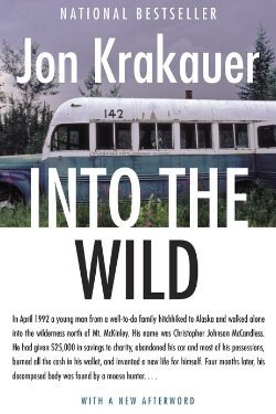 book cover Into the Wild by Jon Krakauer