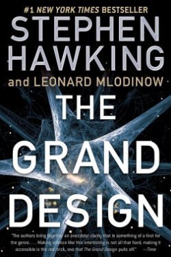 book cover The grand Design by Stephen Hawking and Leonard Mlodinow