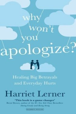 book cover Why Don't You Apologize by Harriet Lerner
