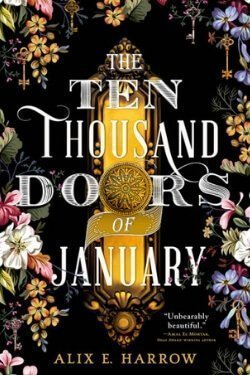 book cover The Ten Thousand Doors of January by Alix E. Harrow